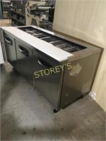 MasterBilt 6' Refrigerated Prep Table - SP7218