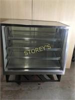 4' Glass Refrigeratd Display Case