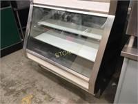 General 4' Meat Cooler w/ Rear Sliding Doors