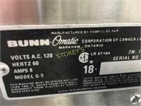 Bunn Coffee Grinder - G9