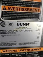 Bunn Coffee Maker - CWTF-15-APS