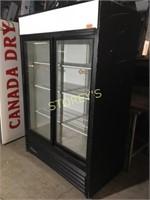 True 2dr sliding Glass Cooler - GDM-45
