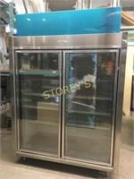 Rapid 2dr Glass Reach-in Freezer