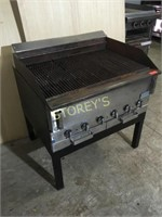 """Garland 36"""" Gas Charbroiler on Stand"""