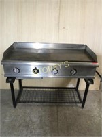APW 4' Electric Flat Top Griddle - EG-48H