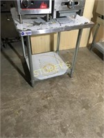 New 30 x 30 S/S Table