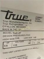 """True 27"""" U/C Cooler - TUC-27"""
