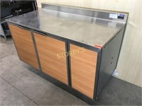 Duke 5' S/S Refrigerated Work Top Cabinet