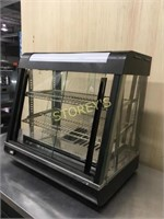 Table Top Merchandising Heated Cabinet - R60-2