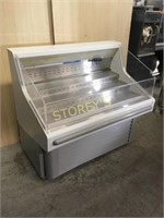 Hussman 4' Open Refrigerated Display Case