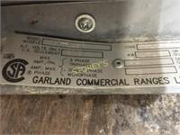 "Garland 36"" Elec. Flat Top Girddle w/ Oven"