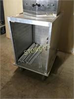Alum Cabinet on Wheels - 20 x 27 x 33