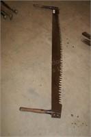 "2 man cross cut saw - 60"" blade length"