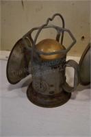 Delta electric railroad lanterns (2pcs)