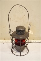 adlake kerosene lamp - Pere Marquette Railroad