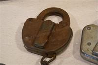 22 Railroad Switch locks, Huron Eastern - no keys