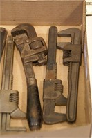 Pipe & Monkey wrenches (9pcs)