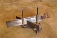Stanley Cast Iron Miter Saw w/ Brass Slides