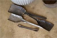 Galvanized Tub w/ Coal Scuttle, Ash Shovel, etc.