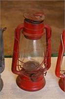 """3pc 12"""" Oil Lanterns - Dietz & Emery"""
