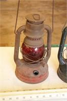 """2pc 12"""" Dietz Oil Lanterns"""