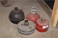 4pc Smudge Pots