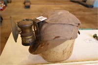 Miner's Cap w/ Auto Lite Carbide Lamp