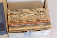 34pc Michigan History Books - '57 - '74