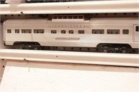 Lionel Aluminum Passenger Cars 3pcs