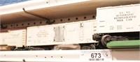 Lionel - refrigerated milk cars - 4pcs