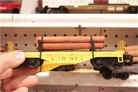 Lionel Loaded flat cars - 11pcs