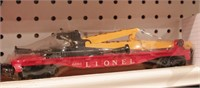 Lionel - helicopter, inspection & crane cars 3pcs