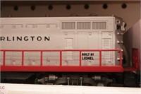 Lionel - Burlington 2328 Diesel engine (1pc)