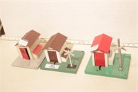 Lionel - whistling shack & Gateman (3pcs)
