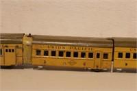 MARX -Tin wind up Union Pacific (4pcs)