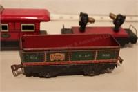 MARX - rolling stock - 7pcs