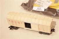 MARX - 3881B Station, 4 autos, Boxcar