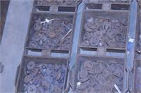 Loghbaugh 0-scale locomotive driver castings 24BOX