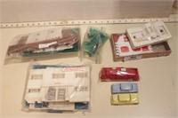 Plasticville accessories - 8pcs