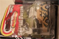 die cast & Car collectables in bubble packs - 9pcs