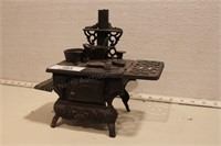 Cast iron American brand small woodstove