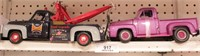 53 ford tow truck, 53 ford pickup (2pcs)