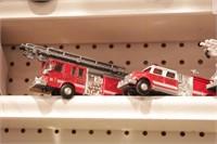 Road Champs fire engines 4pcs