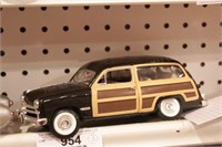 55 Chevy step side, Porsche & ford woody (3pcs)