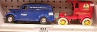 delivery truck -2pcs