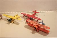 Die cast Planes (3pcs)