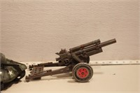 MARX - Cannon 155, Tank (runs) (2pcs)