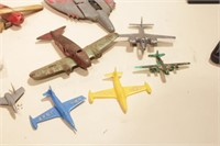 14 plane parts - restoration etc