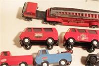 Tonka Trucks & Vans 11pcs