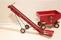 conveyor & gravity wagon - 2pcs